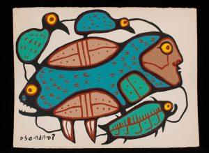 Norval Morrisseau - 8730