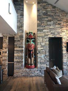 Steve Schmidt - Corey Bulpitt Totem in Situ