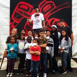 Corey Bulpitt Palos Verdes Centre Raven Graffiti Event