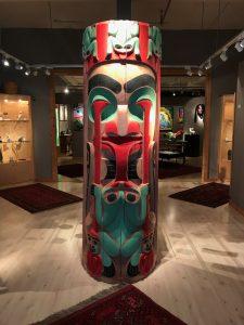 Corey Bulpitt - Volcano Woman Totem
