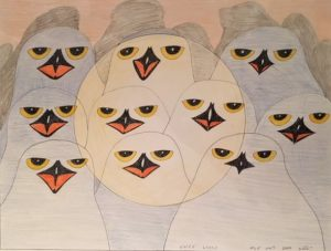 Kananginak Original Owl Family