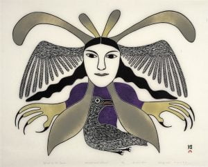 Sold - Kenojuak Ashevak - Spirit Of The Raven