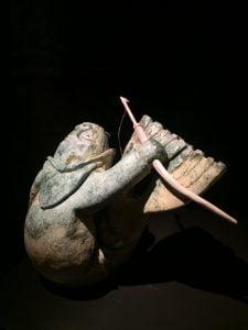 Rodney Kolausok Shaman Transforming into a Walrus
